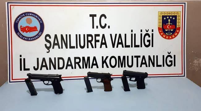 Urfa'da silah kaçakçılığı: 2 tutuklama