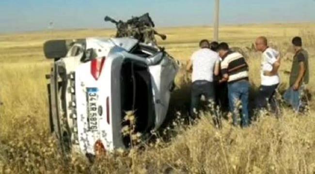 Urfa'da trafik kazası: 1ölü