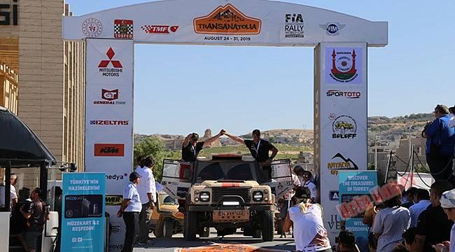 9. Transanatolia Rally Raid yarışı sona erdi