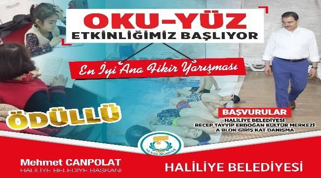 Haliliye'den çocuklar için yarışma