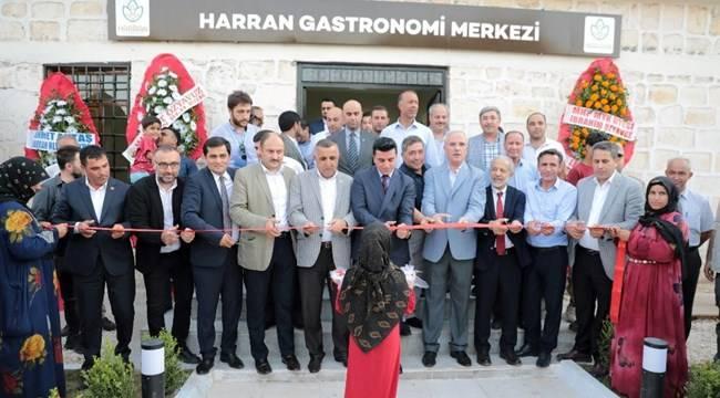 Harran Gastronomi Merkezi ve Gözlem Evi açıldı
