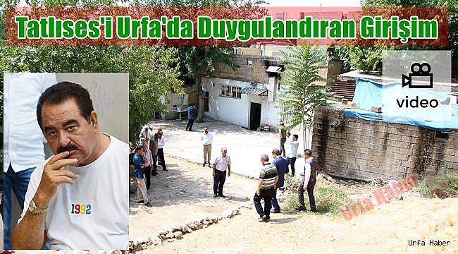 Tatlıses'i Urfa'da Duygulandıran Girişim