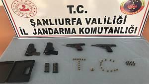 Urfa'da jandarmadan kaçak silah operasyonu