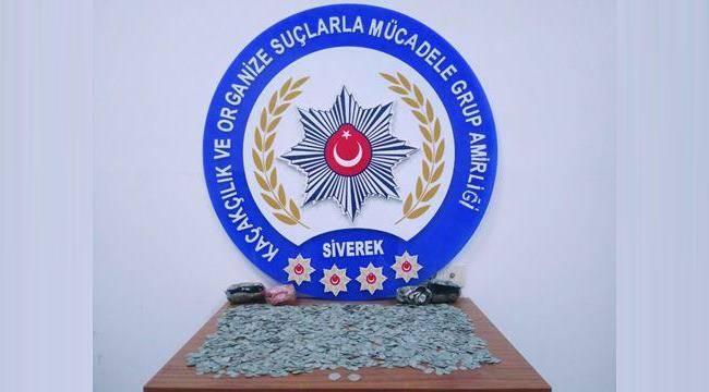 Urfa'da paha biçilmez gümüş sikkeler ele geçirildi