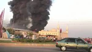 Urfa'da yangın faciası -VİDEO-