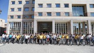 Gaziantep'te hareketli yaşam için pedal çevirdiler