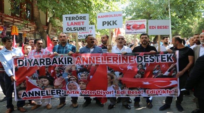 Güneydoğu'daki STK'lerden Diyarbakır annelerine destek