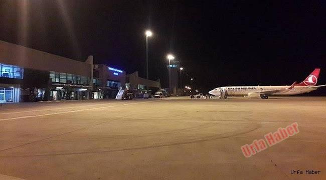 Hayvanlar Urfa'da Uçağı İndirtmedi