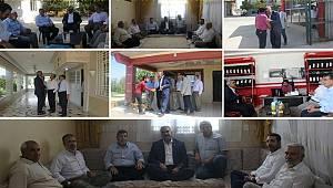 HÜDA PAR heyeti Suruç'ta köyleri ziyaret etti