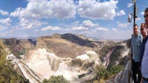 Kaymakam Uslu'dan Silvan Barajında inceleme