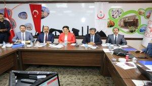 Şanlıurfa'da İl Sağık Değerlendirme Toplantısı