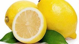 Soğandan sonra şimdi de limon