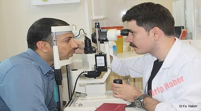 Suruç'ta ilk kez gözyaşı kanalı tıkanıklığı ameliyatı yapıldı