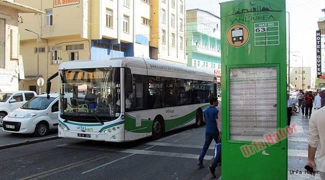 Urfa'da şehirci ulaşıma zam