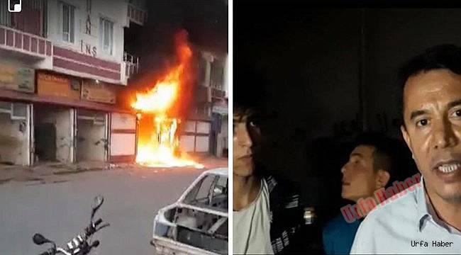 Viranşehir'de iş yeri yangını