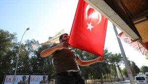 Akçakale halkı terör saldırılarına karşı