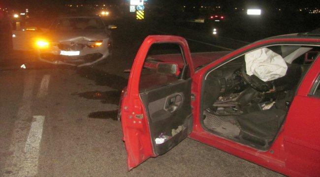 Araban'da trafik kazası: 2 yaralı