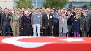 """""""Barış Pınarı Harekatı"""" şehitleri için tören"""