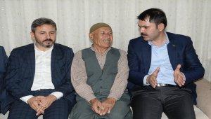 Çevre ve Şehircilik Bakanı Murat Kurum, Adıyaman'da