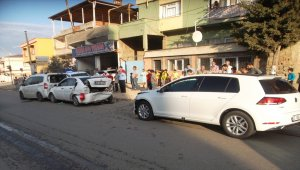 Gaziantep'te zincirleme trafik kazası: 2 yaralı
