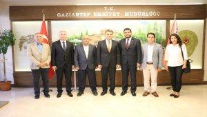 GGC'den, Gaziantep Emniyet Müdürü Cengiz Zeybek'e ziyaret