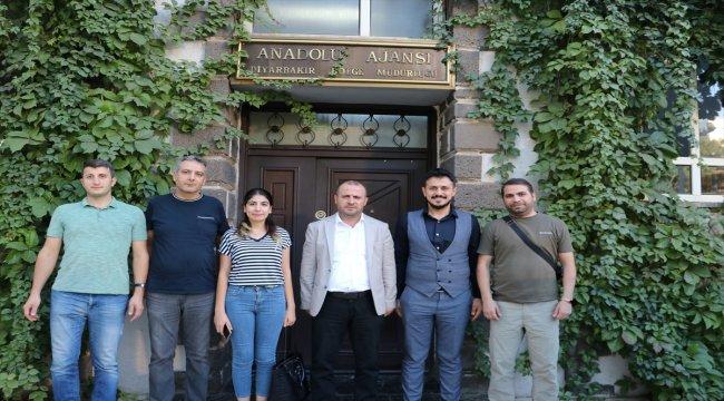 Milli Birlik Cemiyetin'den Anadolu Ajansı'na ziyaret