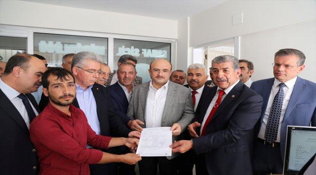 Nizip'te GESOB sicil bürosu hizmet bürosu açıldı