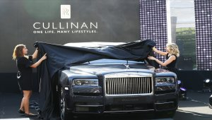Rolls-Royce'un ilk SUV modeli Türkiye'de