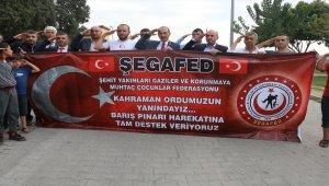 ŞEGAFED'den sınır hattına ziyaret