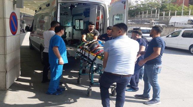 Siirt'te patpat devrildi: 1 yaralı