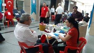Siirt'te Sağlık-Sen'den kan bağışına destek