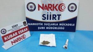 Siirt'teki uyuşturucu operasyonları