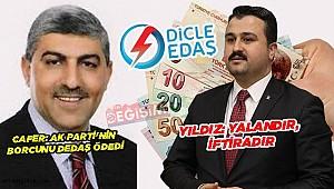 Ak Parti'den borç iddialarına yanıt!