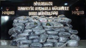 Diyarbakır'da 489 kilogram esrar ele geçirildi