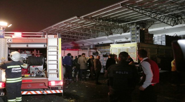 GÜNCELLEME - Diyarbakır'da haldeki bir iş yerinde patlama: 1 ölü, 3 yaralı