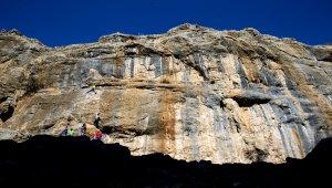 Kaya tırmanışçıları rotasını Diyarbakır'a çevirdi