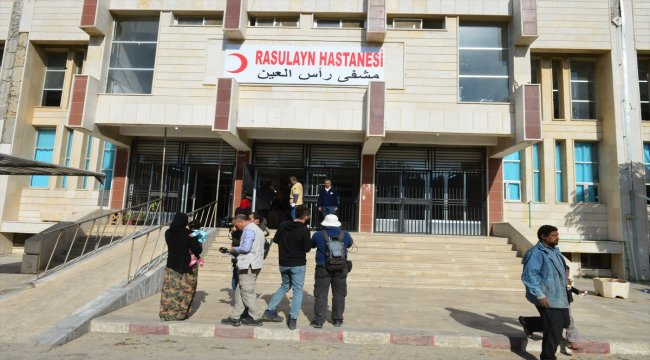 Sağlık Bakanlığınca Rasulayn Hastanesinde başlatılan onarım çalışmaları tamamlandı