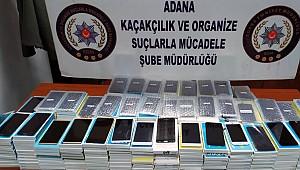 434 gümrük kaçağı cep telefonu ele geçirildi