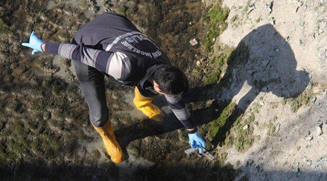 Sulama kanalında tabanca bulundu