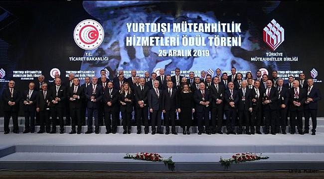 Urfa Firmasına Erdoğan'dan Plaket