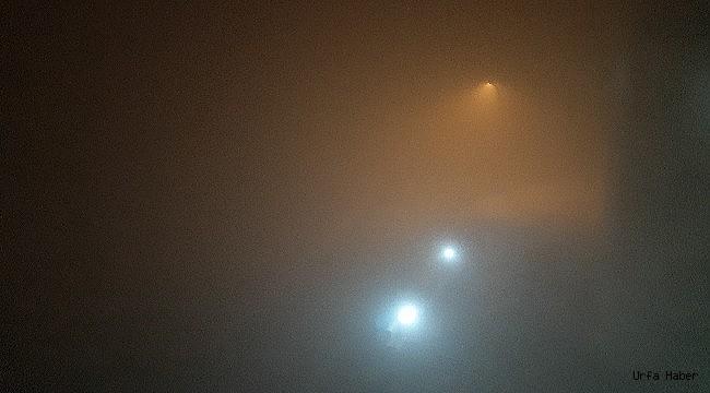 Urfa'yı sis esir aldı