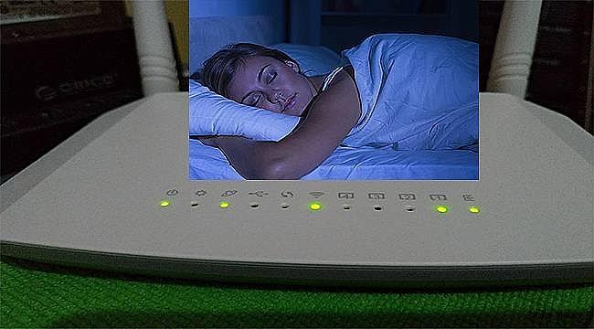 Uyurken modem kapatılmalı
