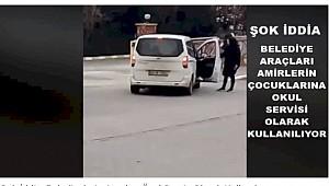 Büyük iddia: Urfa Büyükşehirin Araçları Özel Servis Olarak Kullanılıyor
