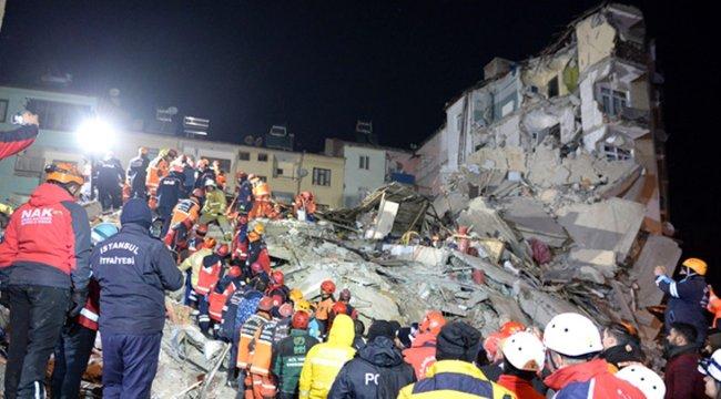 Depremin ardından 73 bina yıkıldı