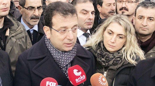 İmamoğlu CHP heyeti ile bölgede