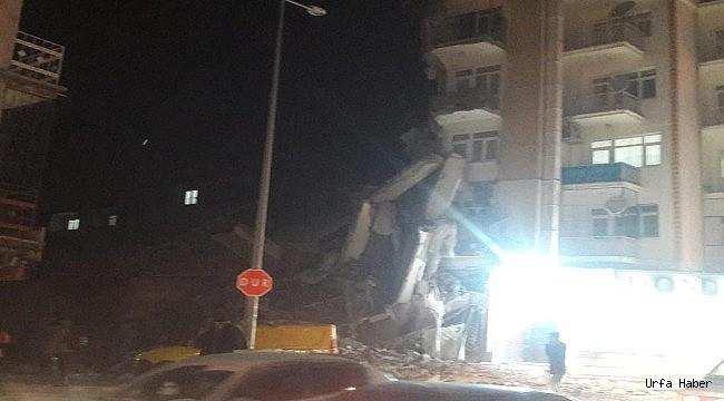 Urfada bir çok ev hasar gördü