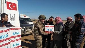 Urfadan Suriyeye yardımlar hız kesmiyor
