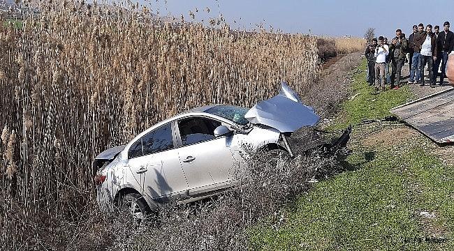 Akçekale yolunda kaza