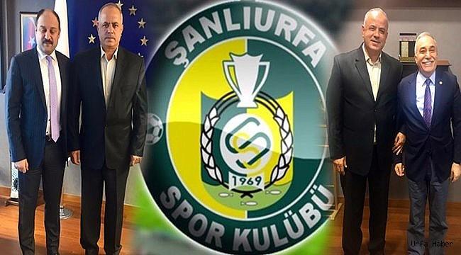 Çakır Urfaspor İçin Ankarada destek arayışına girdi