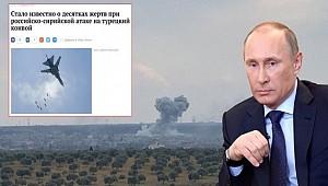 Rus basını: Türk askerini Rus uçakları vurdu